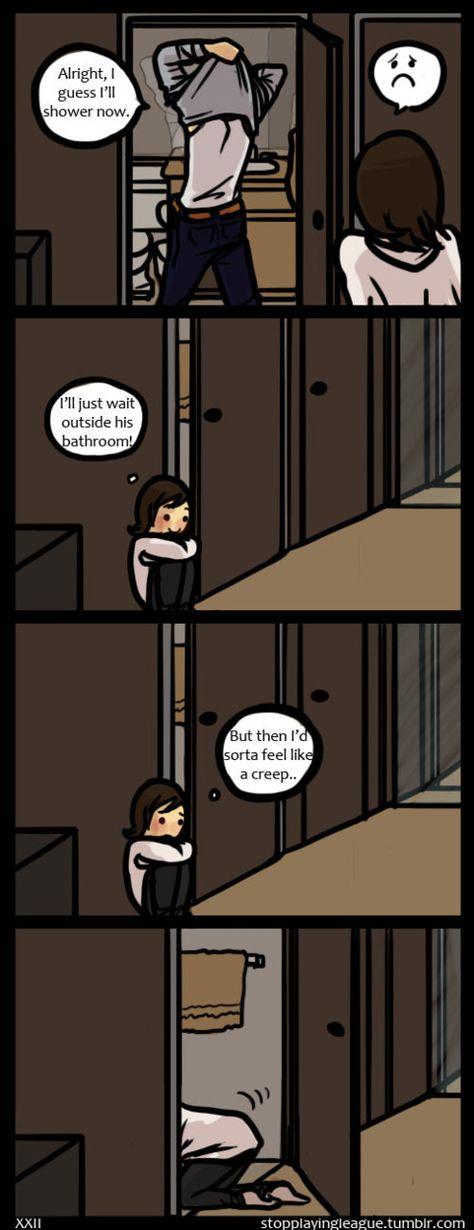 Related to the 2nd panel in this comic! Okay, okay… I'm sorta creepy… .___.
