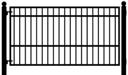 Telluride 10 Single Swing Driveway Gate Driveway Gate Iron Gates Driveway Single Swing