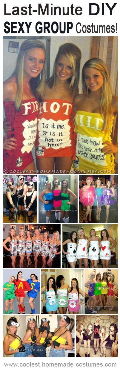 Top 11 Last-Minute Sexy Halloween Costume Ideas for Groups - slutty halloween costume ideas
