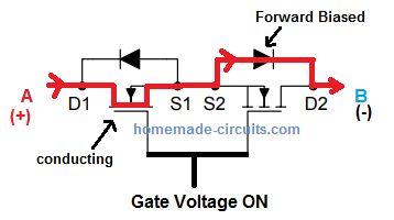 Bidirectional Switch Proekty Elektronika