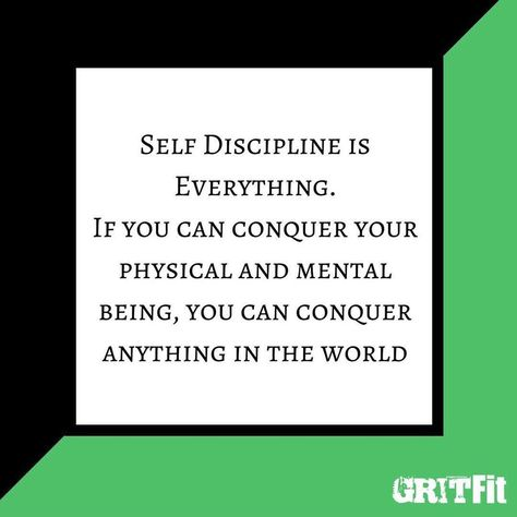 compression Self discipline is EVERYTHING...
