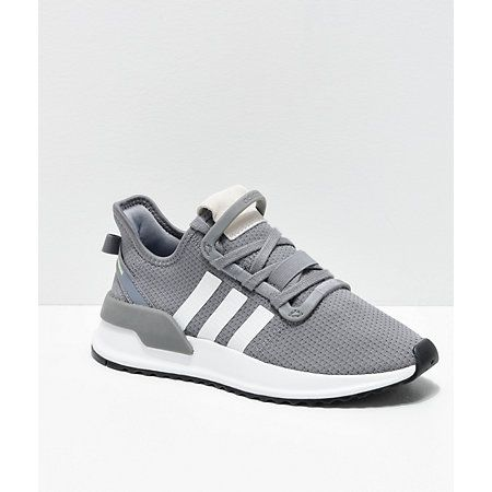 peor Suavemente Edad adulta  adidas U Path Run Grey & White Shoes | Zumiez | White shoes, Shoe selfie,  Adidas