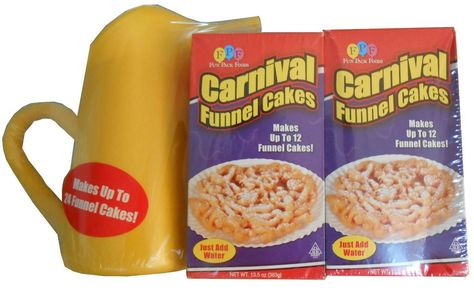 Carnival Funnel Cake Maker Mix 2 Pack and Pitcher Set -- You can get additional details at http://www.amazon.com/gp/product/B001J2NVHW/?tag=pinbaking-20&pgh=060716055152