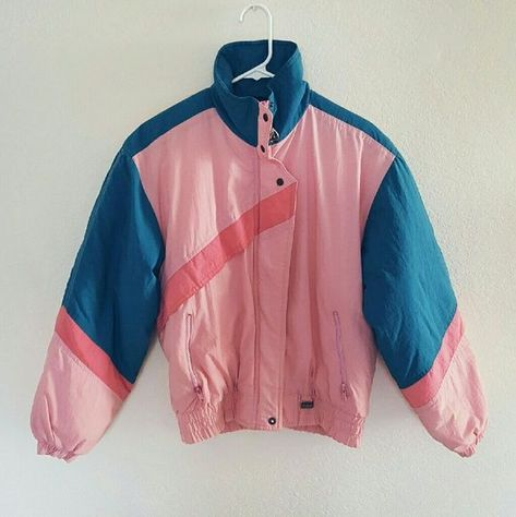Beautiful lightweight puffer jacket in pink and blue. Lightly worn but in good condition. Cute and comfortable. Comes from a smoke-free, pet-free home. NO TRADES :) Fast shipper!