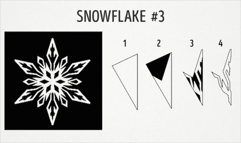 20 fantastic paper snowflake designs you can make with your kids - snowflake template