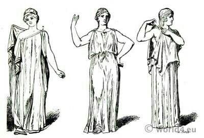 Pin By Asia On Starożytna Moda Greek Dress Ancient Greek Costumes Greek Costume