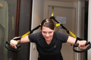 Training im Hotelzimmer