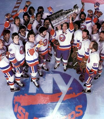 New York Islanders Stanley Cup Champions New York Islanders Team Photos New York Yankees Baseball