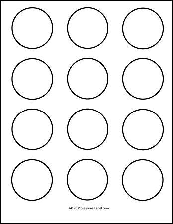 Circle Template Free Printable Circle Templates For Your Next Diy