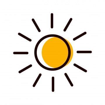 Hot Day Sunny Sun Hot Icon Day Icon Sunny Icon Sun Icon Illustration Design Symbol Sign Graphic Linear Outline Flat Glyph Icon Icon Design Coffee Icon Sun Logo