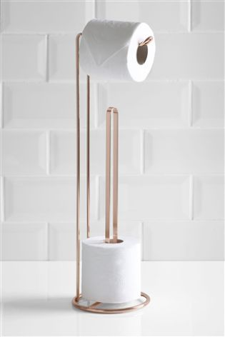 Wire Toilet Roll Holder