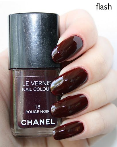 Chanel Rouge Noir 18 | Chanel - My Nail Polishes Collection | Nail ...