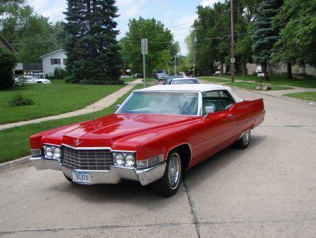 1969 Cadillac DeVille Converible For Sale Des Moines, Iowa 69