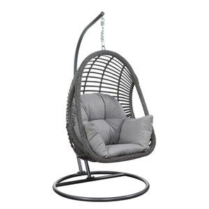 Best Egg Chairs On The Internet Pretty In The Pines New York City Lifestyle Blog Swinging Chair Egg Swing Chair Hanging Hammock Chair Hanging wicker chair with stand