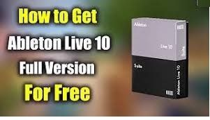 How To Get A Serial Number For Ableton Live 9