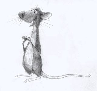 Living Lines Library: Ratatouille (2007) - Concept Art - (Collection of animated lines)