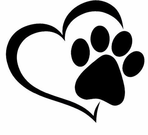 Paw Print And A Heart Car Decal I Love Cat Socks Cat Paw Print