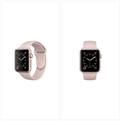Details About Apple Watch Series 2 42mm Rose Gold Case With Pink Band Refurbished In 2020 Apple Watch Apple Watch Series 2 Apple Watch Series