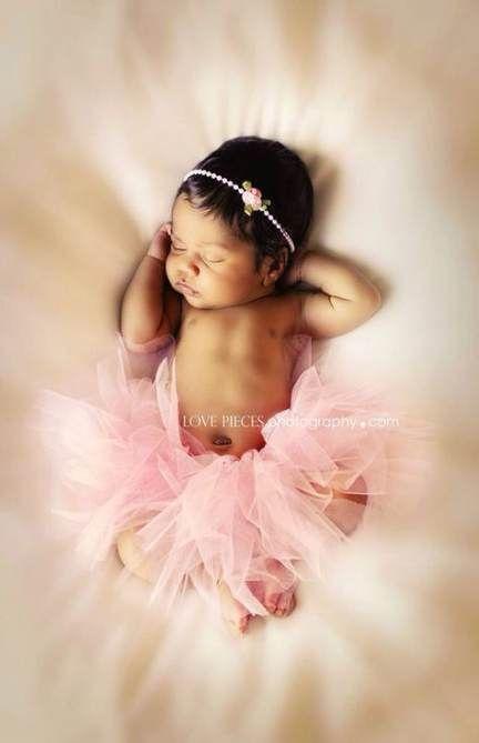 Black Preemie-Infant Tutu Set-with headband