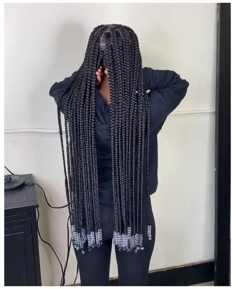 Hair Ponytail Styles, Box Braids Hairstyles For Black Women, Braids Hairstyles Pictures, Cute Braided Hairstyles, Black Girl Braids, African Braids Hairstyles, Braids For Black Hair, Curly Hair Styles, Curly Braids