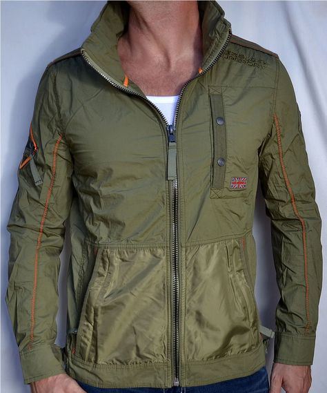 Superdry Padded Elite Jacket Chaqueta para Hombre
