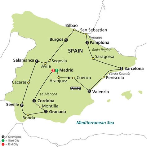 Grand Tour of Spain | Cosmos | Spain Tours