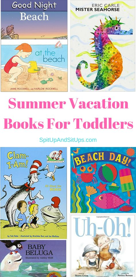 Summer Vacation Books For Toddlers