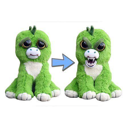 Feisty Pets Extinct Eddie The Stegosaurus Plush Walmart Com In 2020 Cuddle Kind Monkey Plush Unicorn Kids