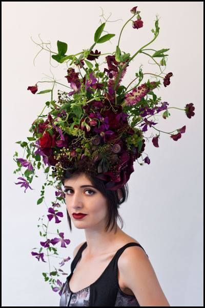 Image Result For Chocolate Cosmos Flower Tattoo Floral Headdress Floral Hair Floral Headpiece