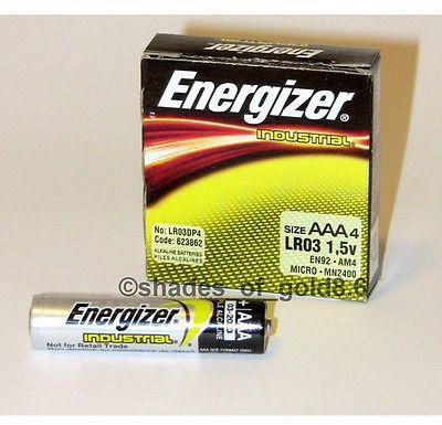 4 Energizer Industrial Aaa Alkaline Batteries En92 Lr03 Alkaline Battery Energizer Alkaline