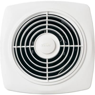 Broan 180 Cfm Through The Wall Exhaust Fan White Bathroom