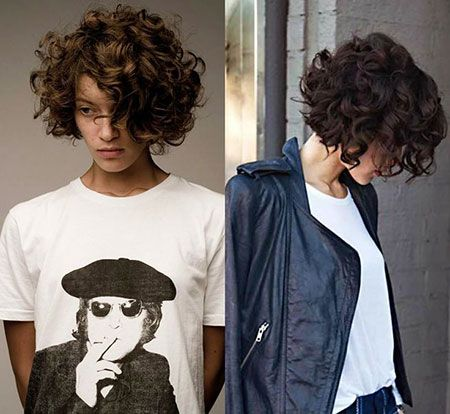 18+ Short curly bob hairstyles 2017 ideas in 2021