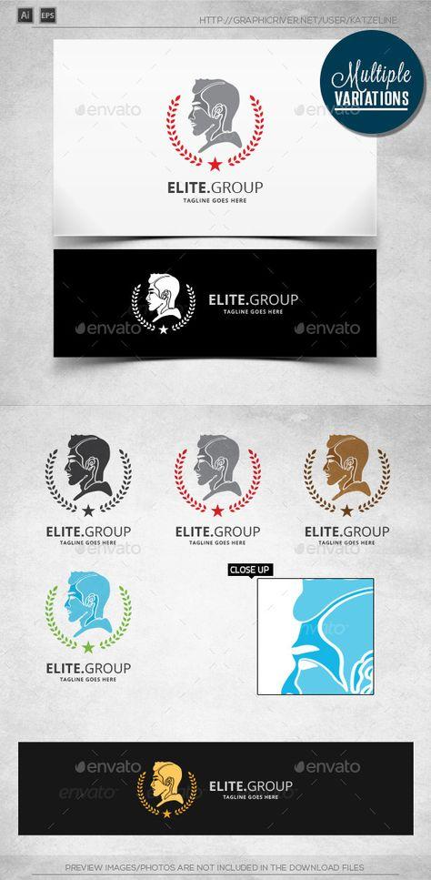 Elite Group - Gentlemen - Logo Template
