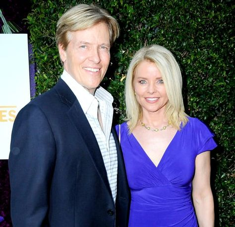 Jack Wagner and EX wife Kristina Wagner attend the 2015 Summer TCA Tour.