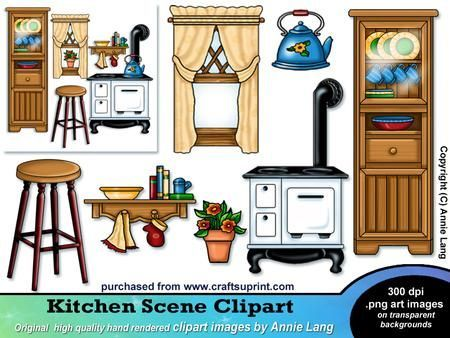 Royalty Free Clipart Image: Man Building a Dollhouse