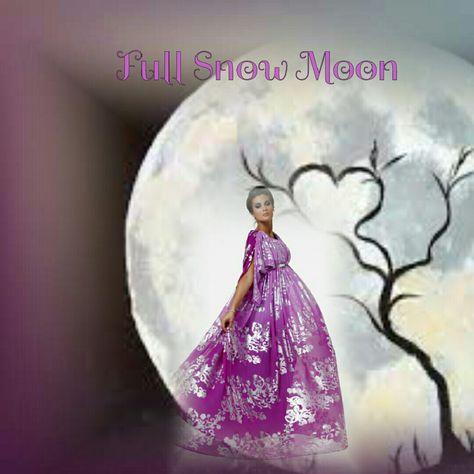 coldmoon It's Full Snow Moon Eclipse...