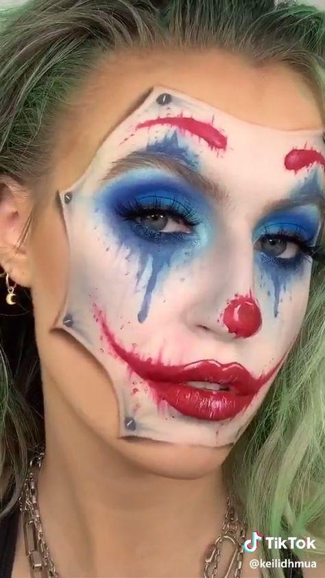 Halloween Clown Makeup Inspo