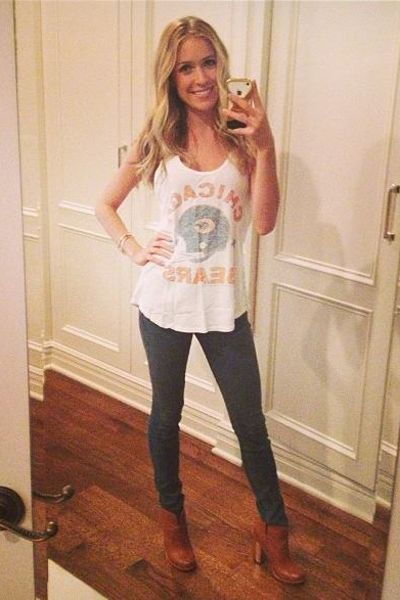 Copy her mom style: Kristin Cavallari's sporty and trendy looks