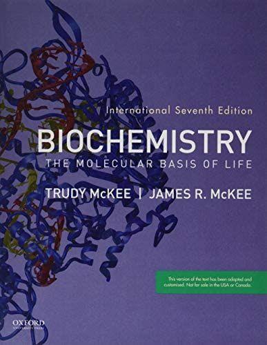 Amazon Com Biochemistry The Molecular Basis Of Life 9780190847685 Mckee James R Mckee Trudy Books Biochemistry Molecular Science Books