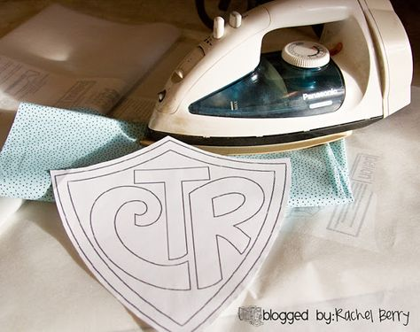 CTR towel and poem for baptism gifts