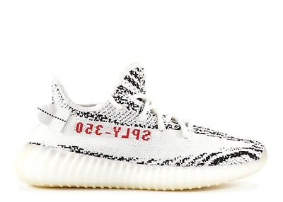 Yeezy Boost 350 V2 Zebra Adidas Cp9654 White Core Black Red Yeezy Nike Air Max 97 Sneakers