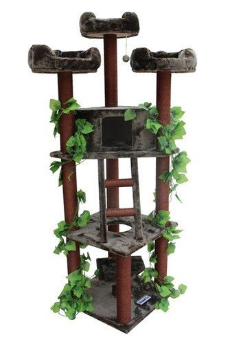 Grinnell Litter Box Enclosure In 2021 Cat Tree House Large Cat Tree Cat Tree Condo