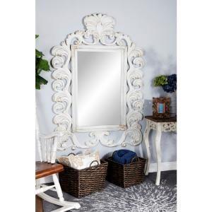 Arlington Gold Baroque Mirror 84001 The Home Depot In 2020 White Wall Mirrors Mirror Wall Baroque Mirror