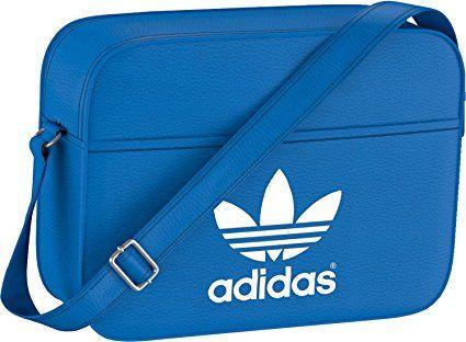 adidas AIRL Classic - Bolsa de deporte, color azul/blanco ...