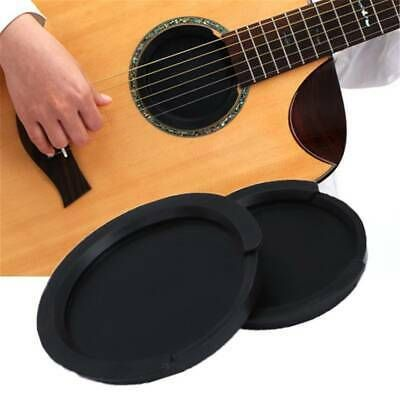 Silicone Classic Guitar Buster Sound Hole Cover Guitar Classic Guitar Black Acoustic Guitar Classical Acoustic Guitar
