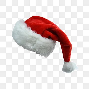 Bola Grande Festiva Com Chapeu De Papai Noel De Cabelos Compridos Clipart De Chapeu Peludo Acessorios Png Imagem Para Download Gratuito Happy Christmas Greetings Big Balls Red Background