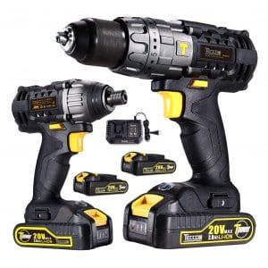 Top 10 Best Cordless Drills In 2020 Reviews Drill Driver Cordless Drill Combo Kit
