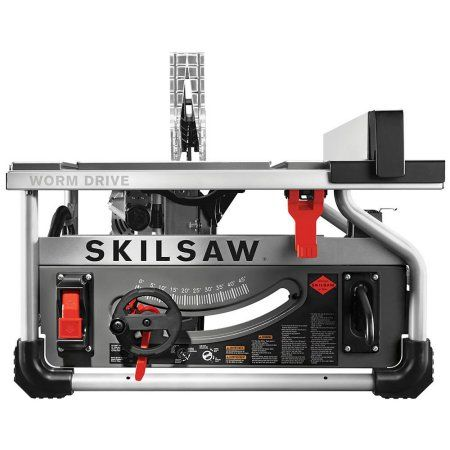Skilsaw 10 Inch Portable Worm Drive Table Saw Skilsaw Blade Portable Table Saw Jobsite Table Saw Table Saw