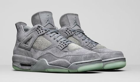 f59200696b1e57 Air Jordan 4 Retro x Kaws