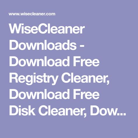 download freeware registry cleaner
